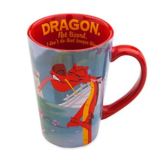 Disney Store Mushu Mug, Mulan
