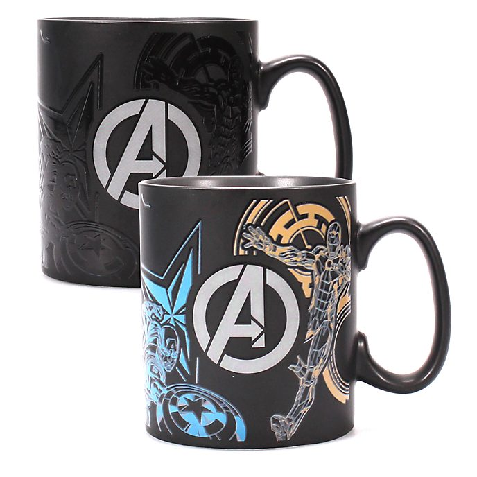 Disney Store - The Avengers - Becher mit Wärmereaktion