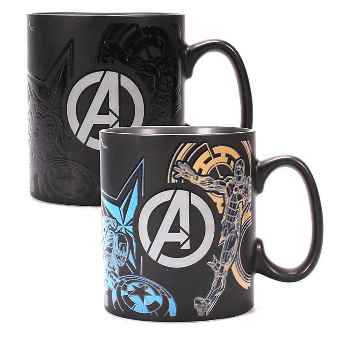 Disney Store Avengers Heat Changing Mug