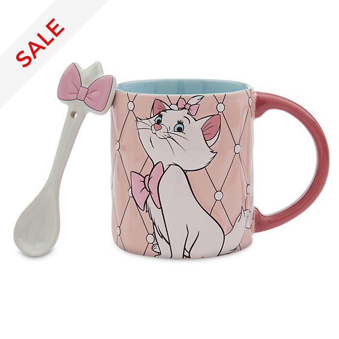 Disney Store Marie Mug and Spoon