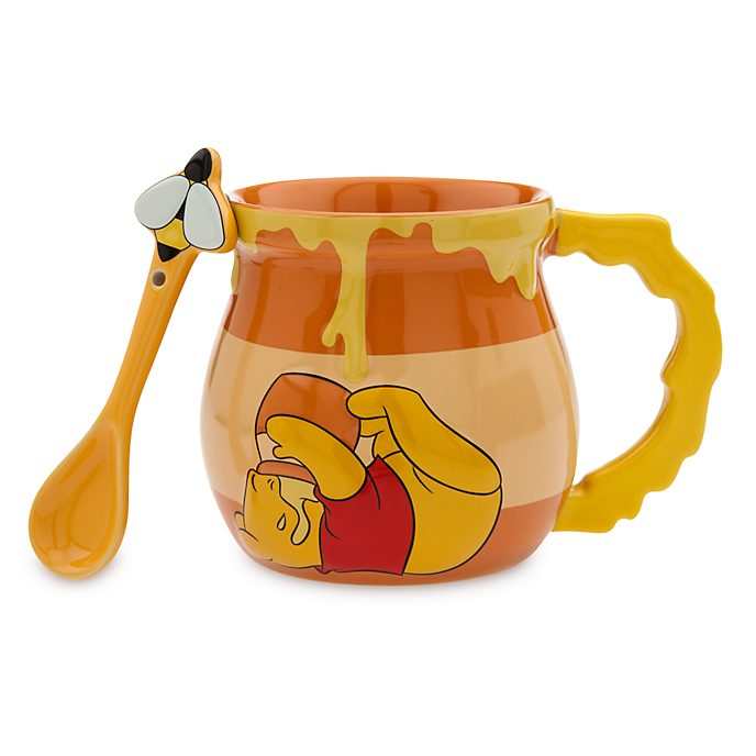 Disney Store Winnie the Pooh Mug and Spoon ed4667cc02