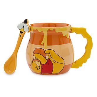 Disney Store Mug et cuillère Winnie l'Ourson