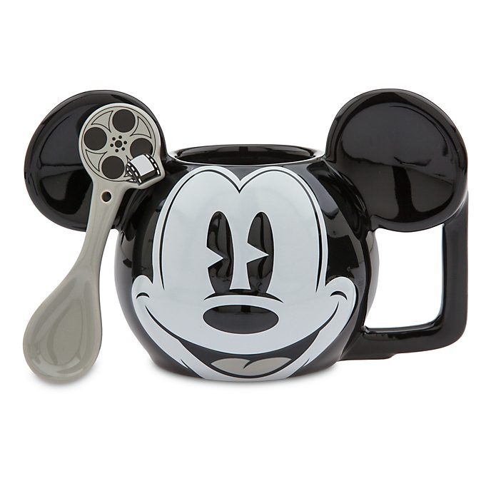Disney Store Mickey Mouse Mug and Spoon
