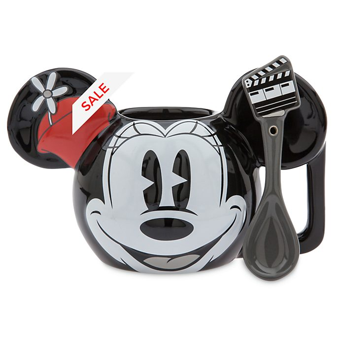 Disney Store Minnie Mouse Mug and Spoon