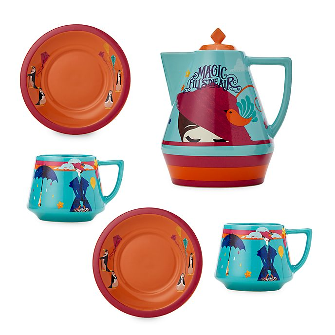 Disney Store Mary Poppins Returns Tea Set