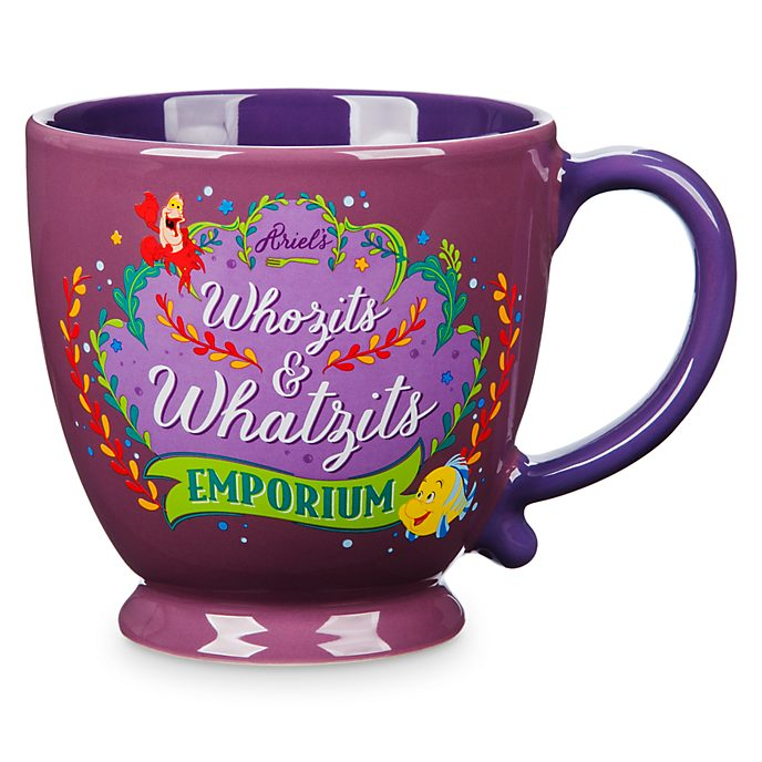 Disney Store Mug The Little Mermaid's Whozits And Whatzits, La Petite Sirène