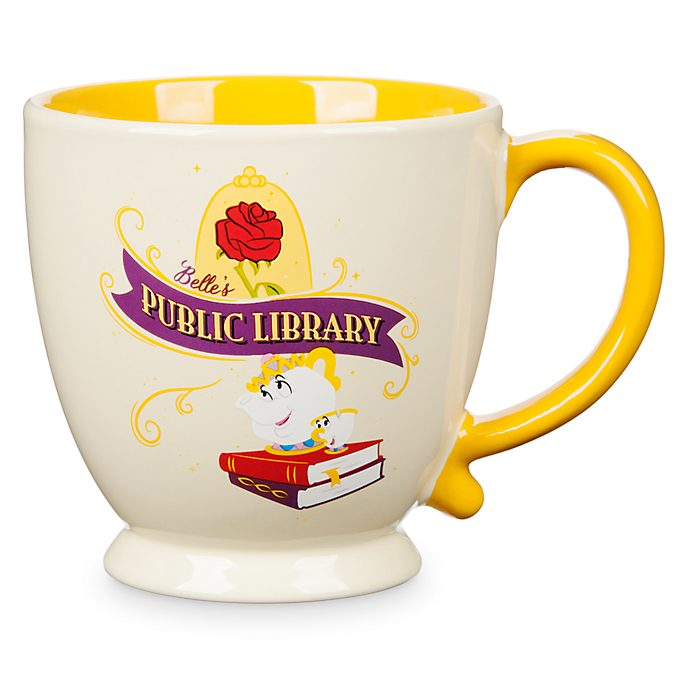 Disney Store Belle's Public Library Mug, Beauty And The Beast