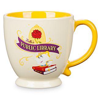 Tazza biblioteca pubblica Belle La Bella e la Bestia Disney Store