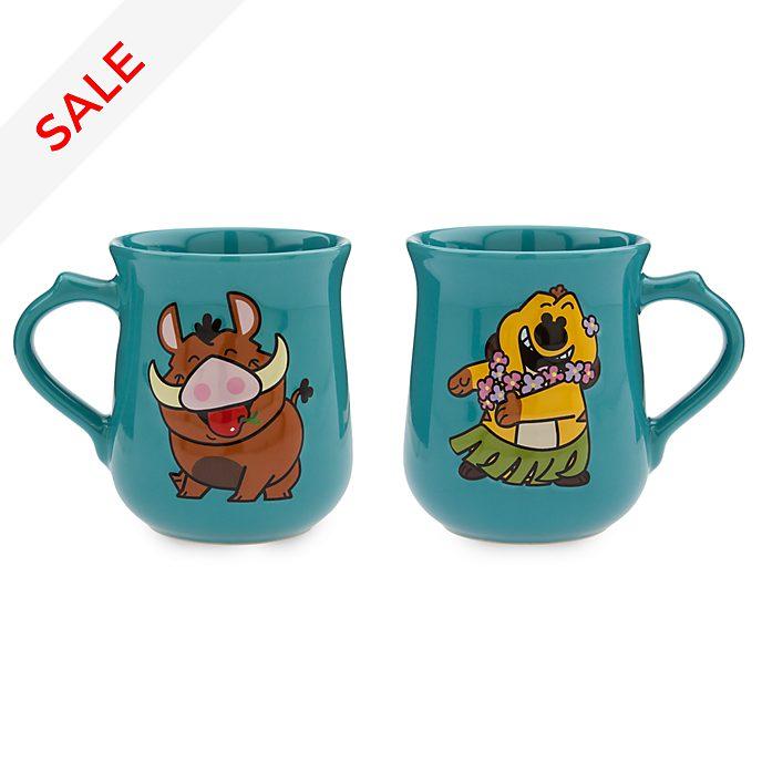 Disney Store - Dynamic Duos - Timon und Pumbaa - Becherset