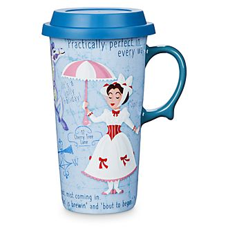 Disney Store Mary Poppins Returns Travel Mug