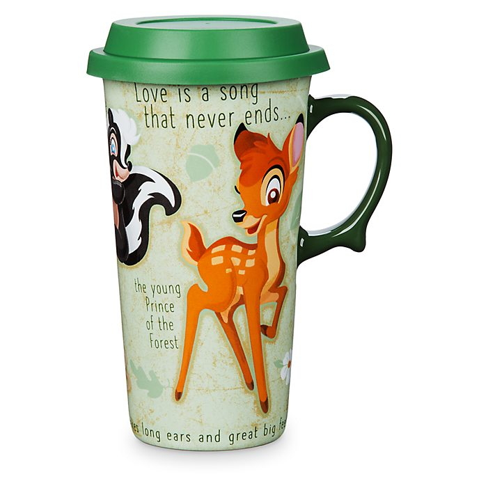 Disney Store Bambi Travel Mug