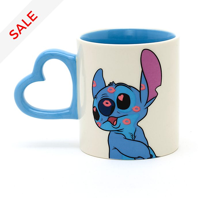 Disney Store Stitch Couple Mug