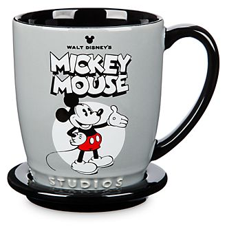 Walt Disney Studios Mickey and Minnie Mouse Mug and Coaster