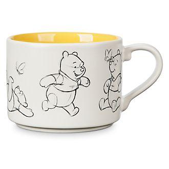 Taza animada Winnie the Pooh, Disney Store