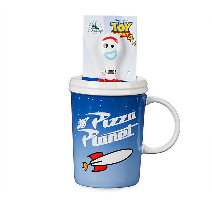 Disney Store Mug et cuillère Fourchette pour enfants, Toy Story 4