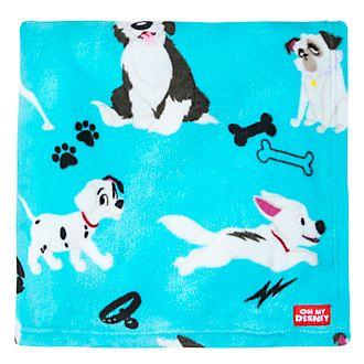 Disney Store Oh My Disney Dogs Fleece Throw