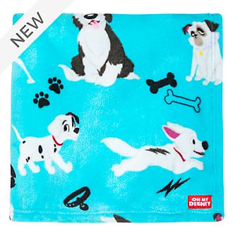 Disney Store Oh My Disney Dogs Fleece Throw