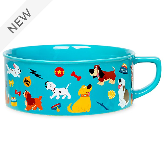 Disney Store Oh My Disney Dogs Pet Bowl