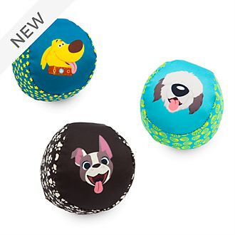 Disney Store Oh My Disney Dogs Pet Toy Balls, Set of 3