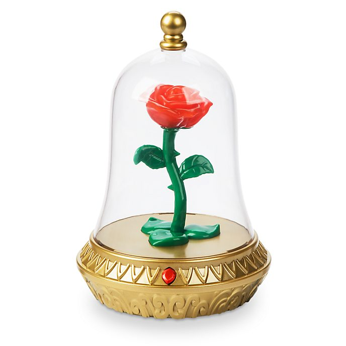 Disney Store Enchanted Rose Nightlight, Beauty and the Beast