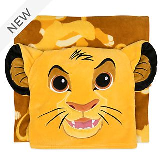 Disney Store Simba Convertible Fleece Throw