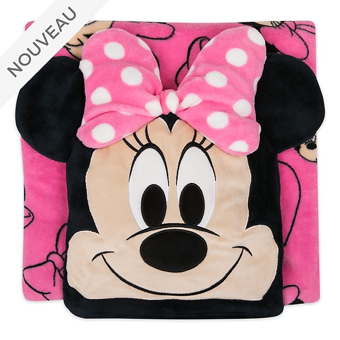 Disney Store Jeté convertible Minnie en polaire