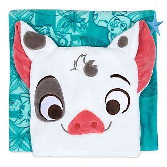Disney Store - Vaiana - Pua - Kombi-Tagesdecke aus Fleece