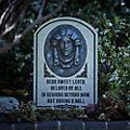 Lápida decorativa Madame Leota, Disney Store