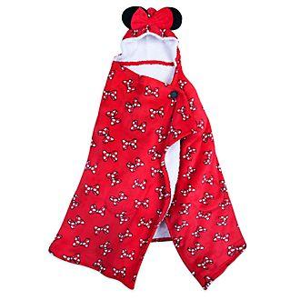 Disney Store Minnie Mouse Hooded Fleece Throw
