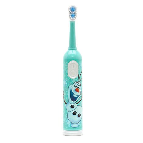 Spazzolino da denti con azione rotante e timer Olaf di Frozen - Il Regno di Ghiaccio