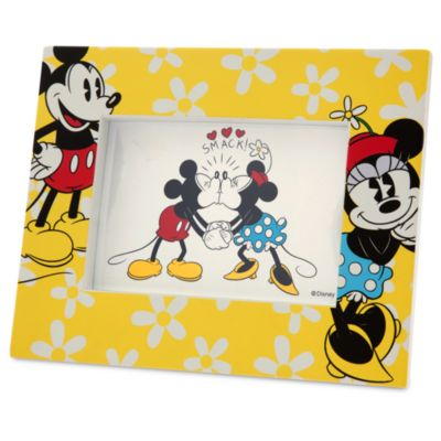 Cadre photo Mickey et Minnie Mouse