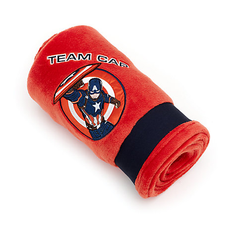 Captain America - Tagesdecke aus Fleece