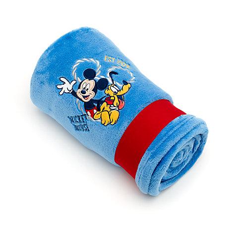 Mickey Mouse fleecetæppe