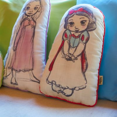 Coussin Blanche Neige, Collection Disney Animator