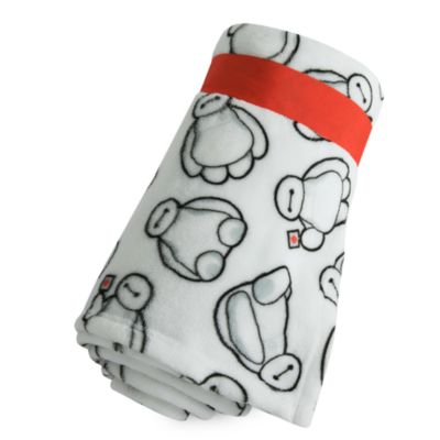 Baymax Fleece Throw Blanket