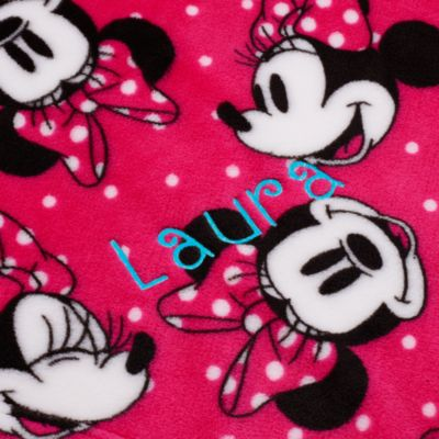 Minnie Mouse Fleece Throw Blanket