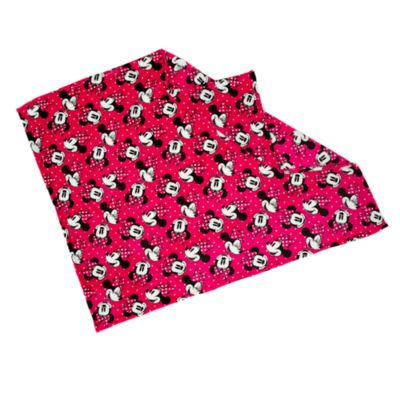 Minnie Maus - Fleece-Überwurfdecke