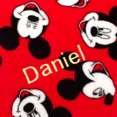 Plaid en polaire Mickey Mouse
