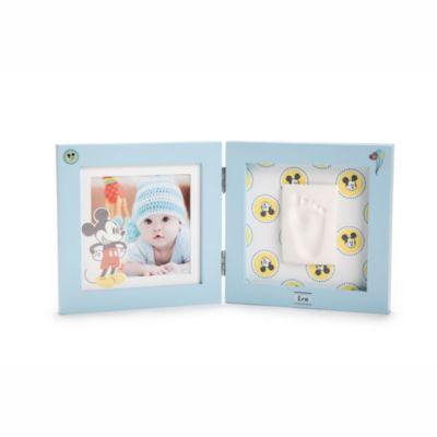 Micky Maus Babyabdruck Bilderrahmen