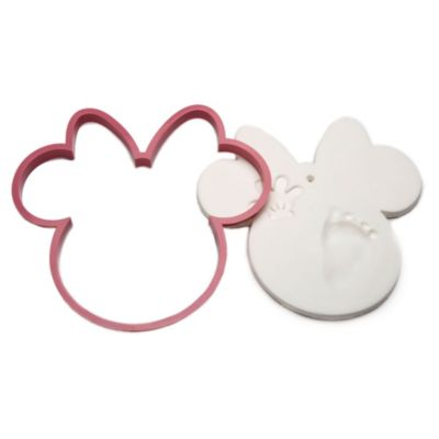 Minnie Mouse Baby Prints Keepsake Decoration