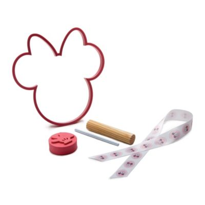 Souvenir decorativo de huellas infantiles de Minnie