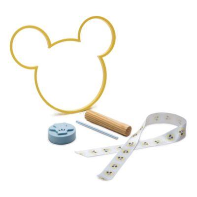 Micky Maus – Babyabdrücke als Andenken und Dekoration