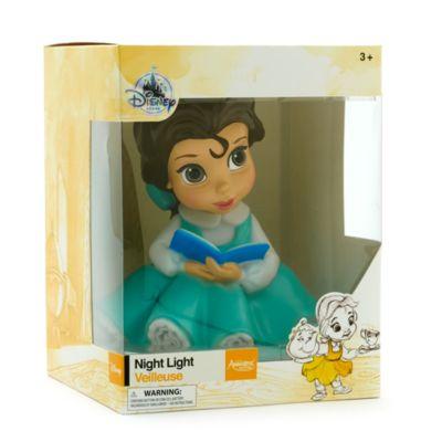 Luce notturna Belle, collezione Disney Animators