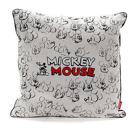 Coussin esquisse Mickey Mouse
