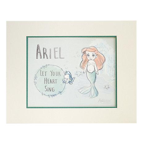 Set de ilustraciones para cuadros, colección Disney Animators