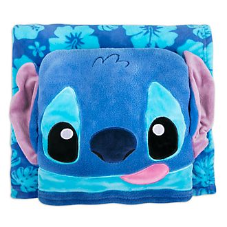 Disney Store Stitch Fleece Throw