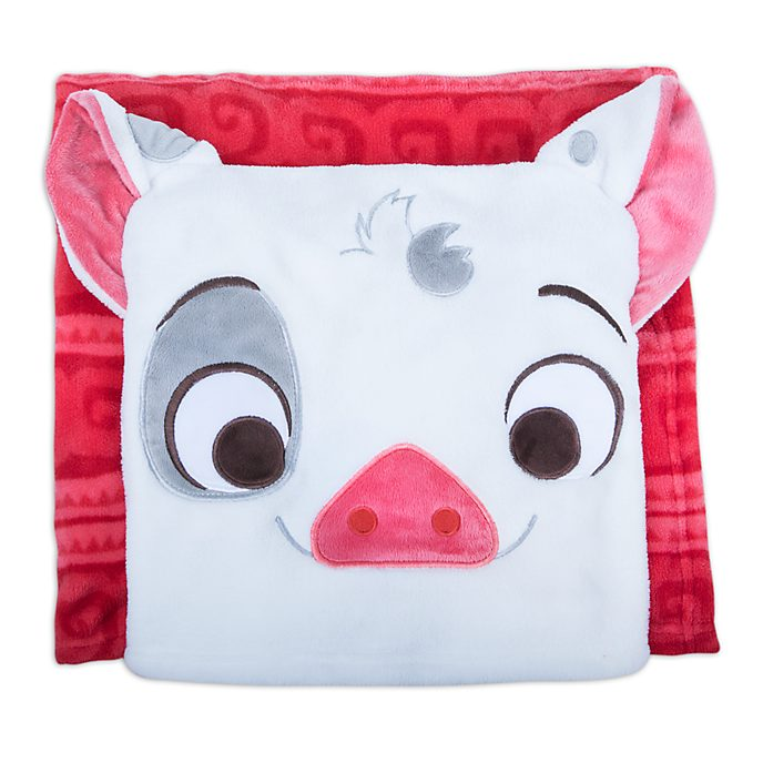 Disney Store Pua Fleece Throw, Moana