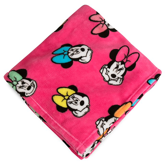 Disney Store Minnie Mouse Fleece Throw