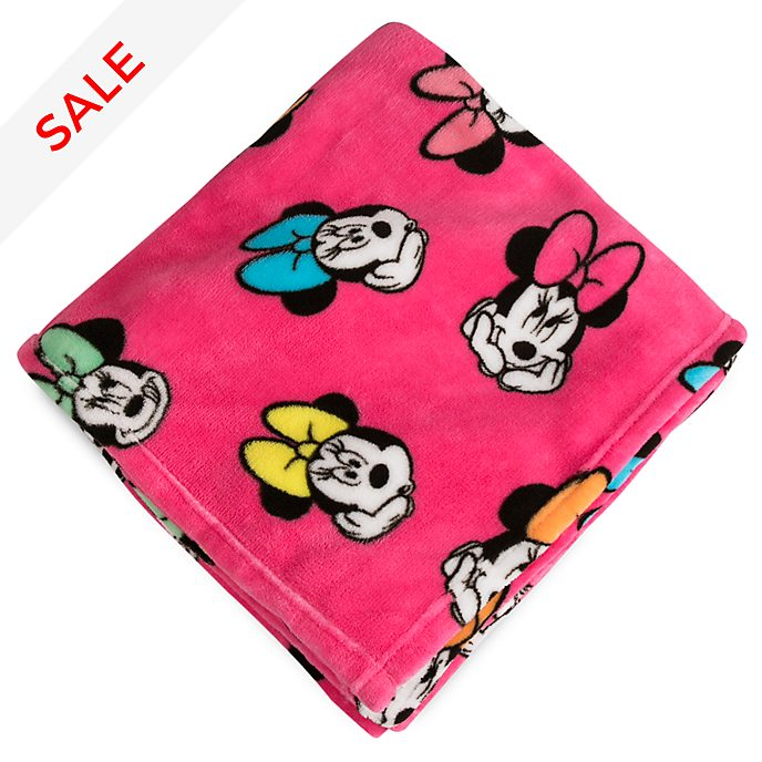 Disney Store - Minnie Maus - Tagesdecke aus Fleece