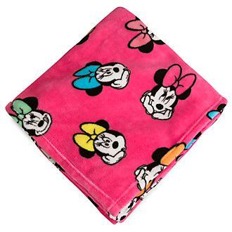 Disney Store Jeté Minnie Mouse en polaire